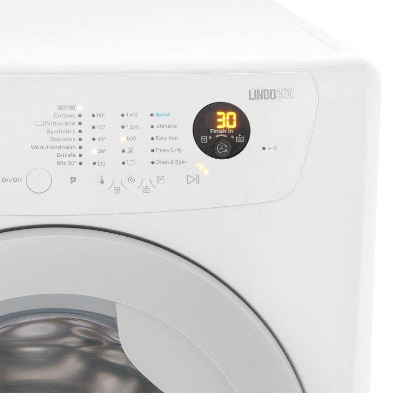 Zanussi Lindo300 ZWF01483WR 10Kg Washing Machine with 1400 rpm - White