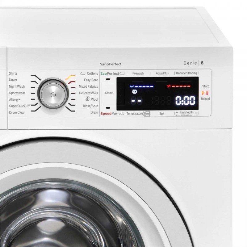 Bosch Serie 8 WAW32560GB 9Kg Washing Machine with 1600 rpm - White