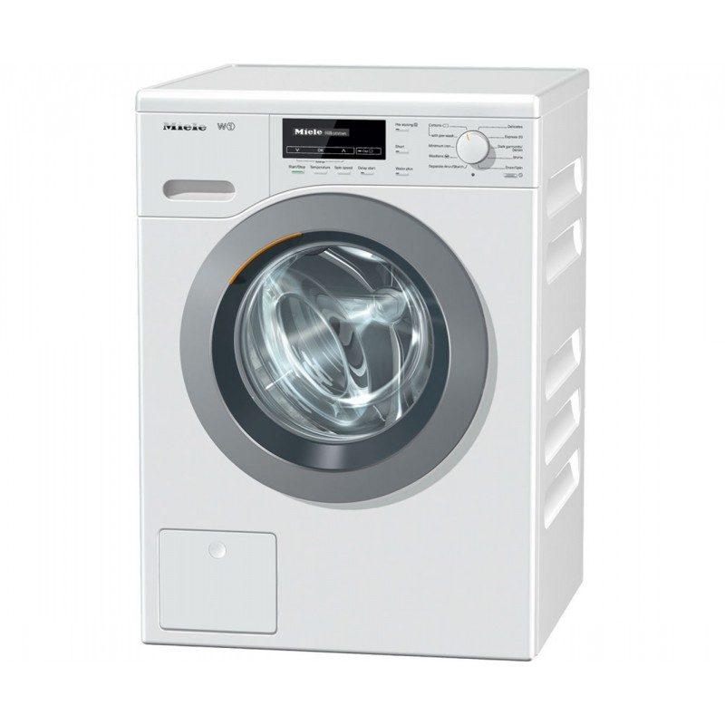 Miele W1 ChromeEdition WKB120 8Kg Washing Machine with 1600 rpm - White