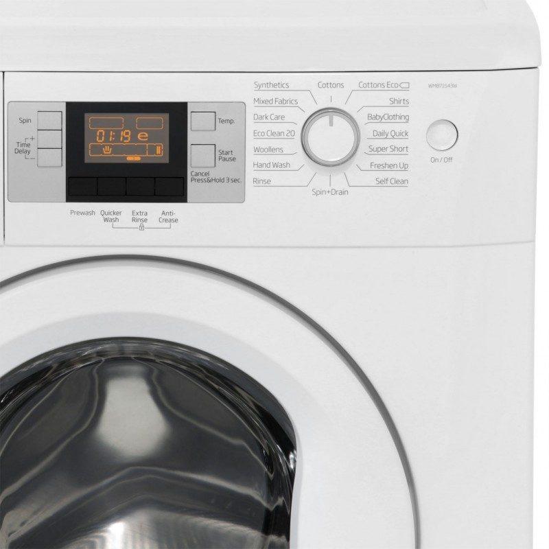 Beko WMB71543W 7Kg Washing Machine with 1500 rpm - White