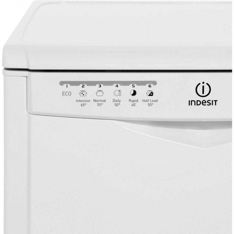 Indesit My Time DFG26B1 Standard Dishwasher - White