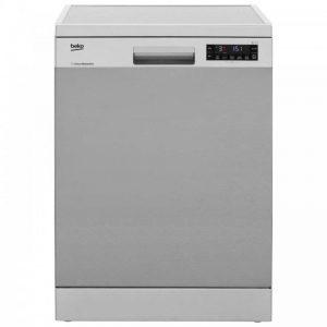 Beko DFN28R30X Standard Dishwasher - Stainless Steel