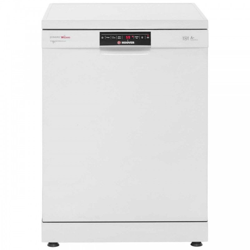 Hoover Dynamic Wizard DYM762T Standard Dishwasher - Whitw