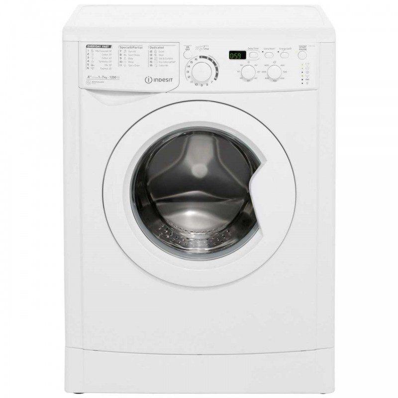 Indesit My Time EWD71252W 7Kg Washing Machine with 1200 rpm - White