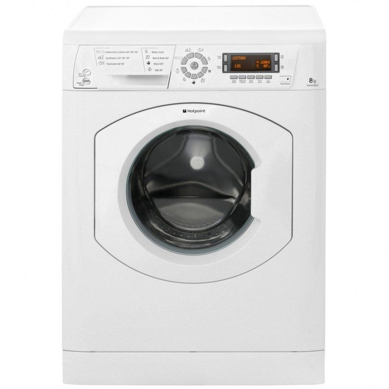 Hotpoint WMAO863P 8Kg Washing Machine with 1600 rpm - White