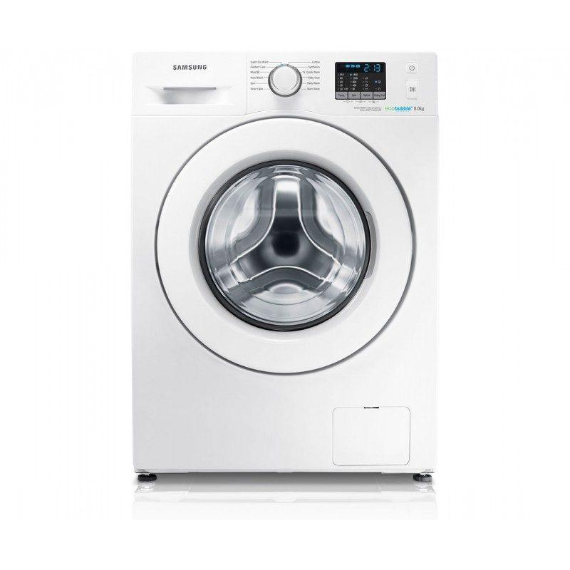 Samsung Ecobubble WF80F5E0W4W 8Kg Washing Machine with 1400 rpm - White