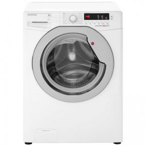 Hoover Dynamic Next DXCC69W3 9Kg Washing Machine with 1600 rpm - White / Chrome