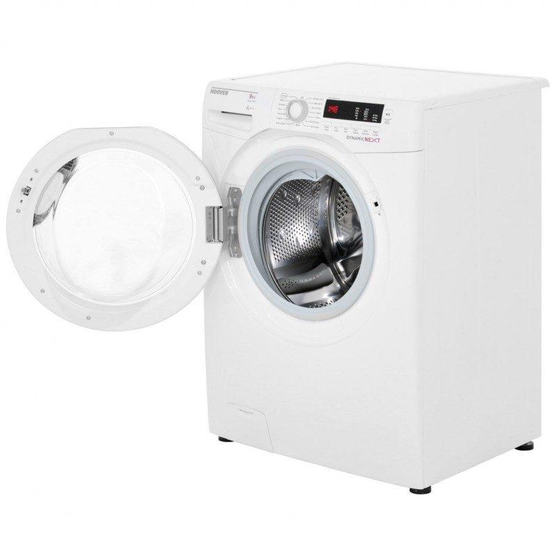 Hoover Dynamic Next DXCC69W3 9Kg Washing Machine with 1600 rpm - White / Chrome