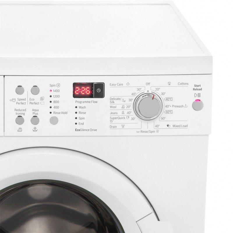 Bosch Serie 6 WAQ283S1GB 8Kg Washing Machine with 1400 rpm - White