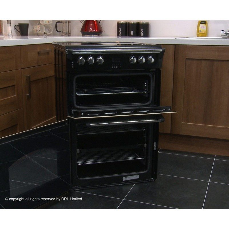 Leisure Gourmet GRB6CVK Electric Cooker with Ceramic Hob - Black