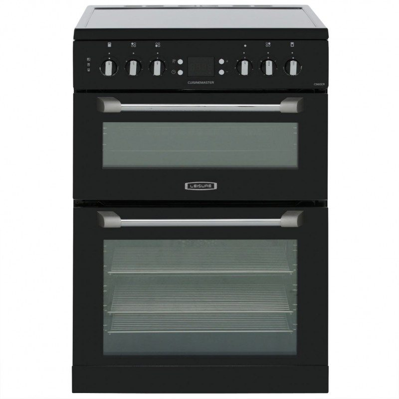 Leisure Cuisinemaster CS60CRK Electric Cooker with Ceramic Hob - Black
