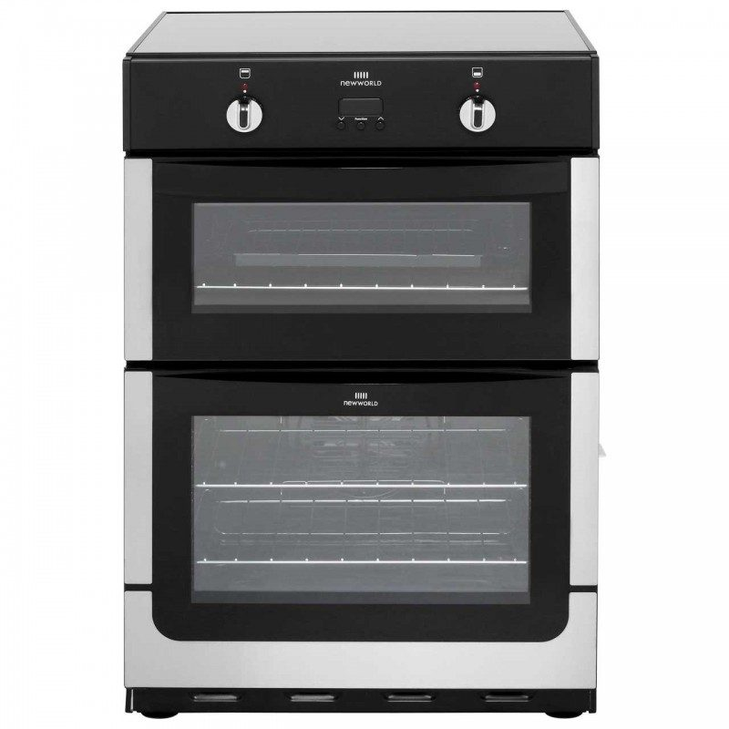 Newworld NW601EDOMTi Electric Cooker with Induction Hob - Stainless Steel