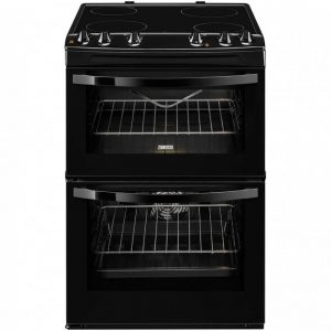 Zanussi Avanti ZCV680DOBA Electric Cooker with Ceramic Hob - Black