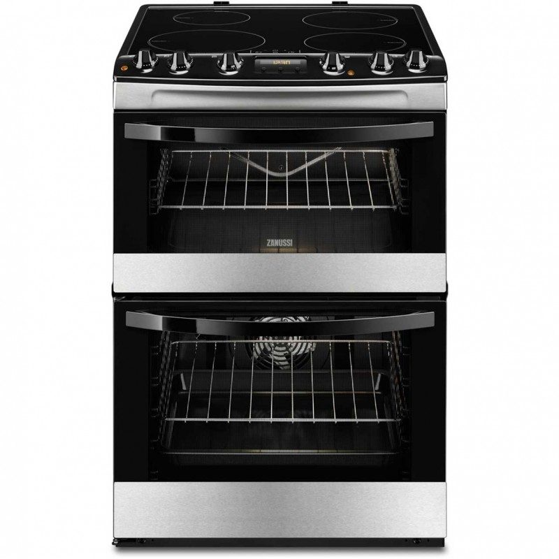 Zanussi Avanti ZCI68310XA Electric Cooker with Induction Hob - Stainless Steel