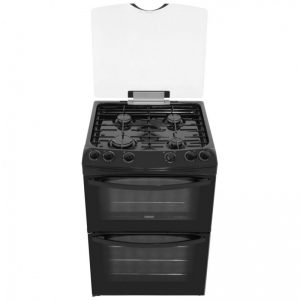 Zanussi ZCG63010BA Gas Cooker with Gas Grill - Black
