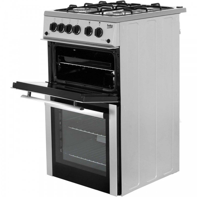 Beko BDVG592K Gas Cooker with Gas Grill - Black