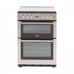 Stoves SFG60DOP Gas Cooker with Electric Grill - Stainless Steel