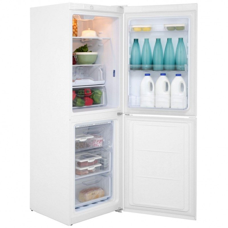 Indesit LD70N1W 50/50 Frost Free Fridge Freezer - White