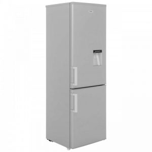 Fridgemaster MC55244D 60/40 Fridge Freezer - Silver