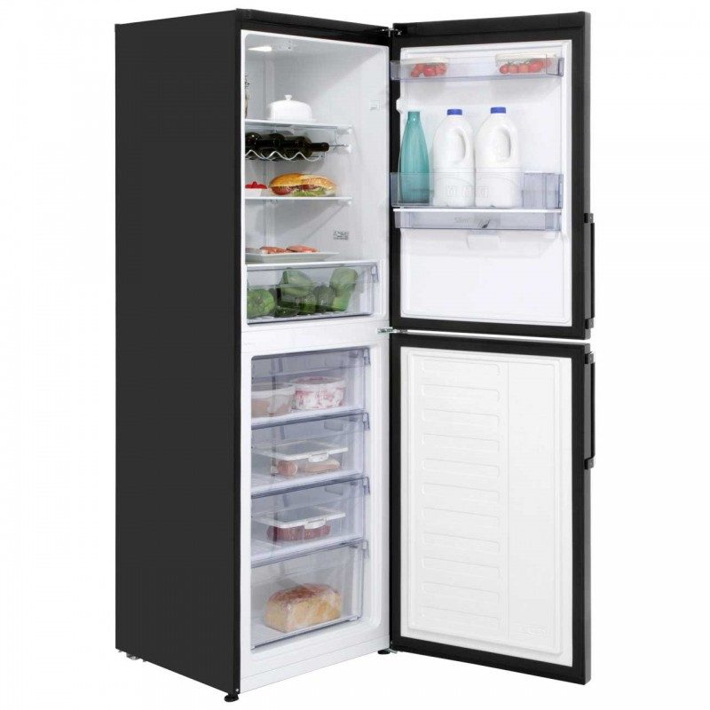 Beko CFP1691DB 50/50 Frost Free Fridge Freezer - Black