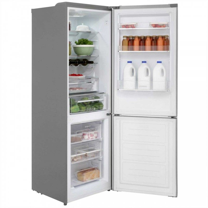 Hoover HF18XK 70/30 Frost Free Fridge Freezer - Silver