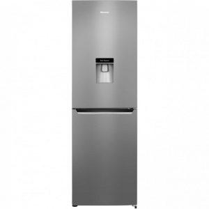 Hisense RB381N4WC1 50/50 Frost Free Fridge Freezer - Stainless Steel