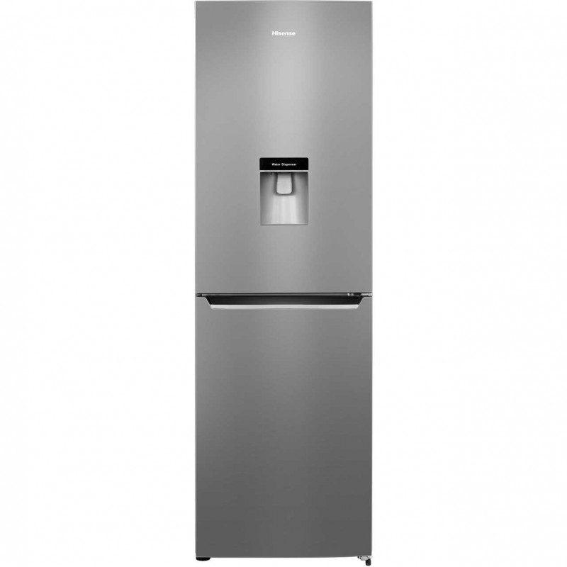 Hisense RB381N4WC1 50/50 Frost Free Fridge Freezer - Stainless Steel