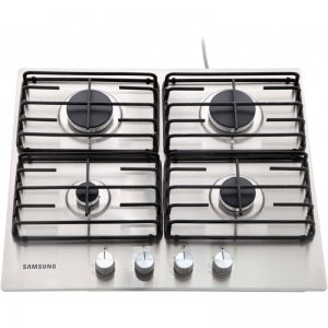 Samsung NA64H3110AS 60cm Gas Hob - Stainless Steel