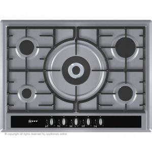 Neff T26S56N0 70cm Gas Hob - Stainless Steel