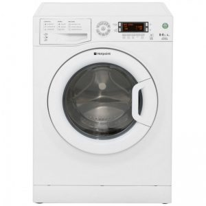Hotpoint Aquarius WDXD8640P 8Kg / 6Kg Washer Dryer with 1400 rpm - White