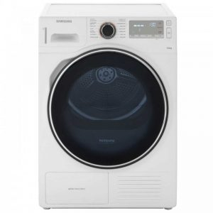 Samsung DV90H8000HW Heat Pump Tumble Dryer - White
