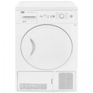 Beko DCUR801W Condenser Tumble Dryer - White