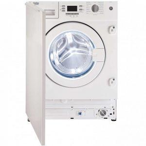 Beko WMI651241 Integrated 6.5Kg Washing Machine with 1200 rpm