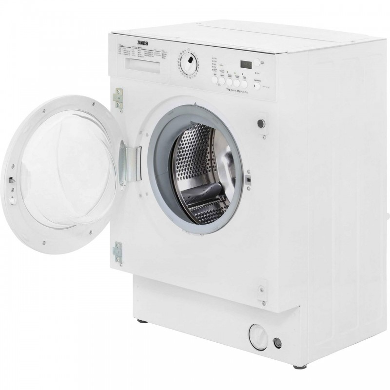 Zanussi ZWT71401WA Integrated 7Kg / 4Kg Washer Dryer with ...