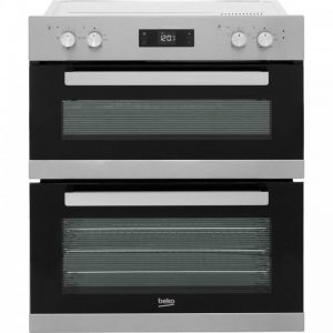 Beko BRTF22300X Built Under Double Oven - Stainless Steel
