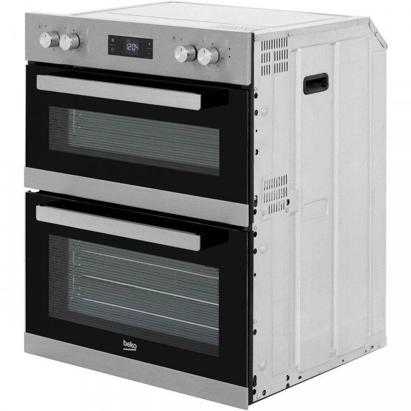 Beko BRTF22300X Built Under Double Oven - Stainless Steel