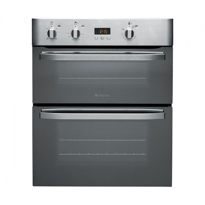 Hotpoint Newstyle UHS53XS Built Under Double Oven - Stainless Steel