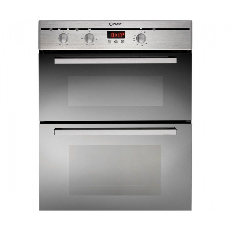 Indesit FIMU23IXS Built Under Double Oven - Stainless Steel